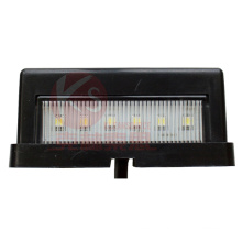 ECE Approved LED License Plate Light, IP 67 Waterproof, 2 Year Warranty