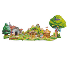 3D Jigsaw Puzzle Three Little Pigs