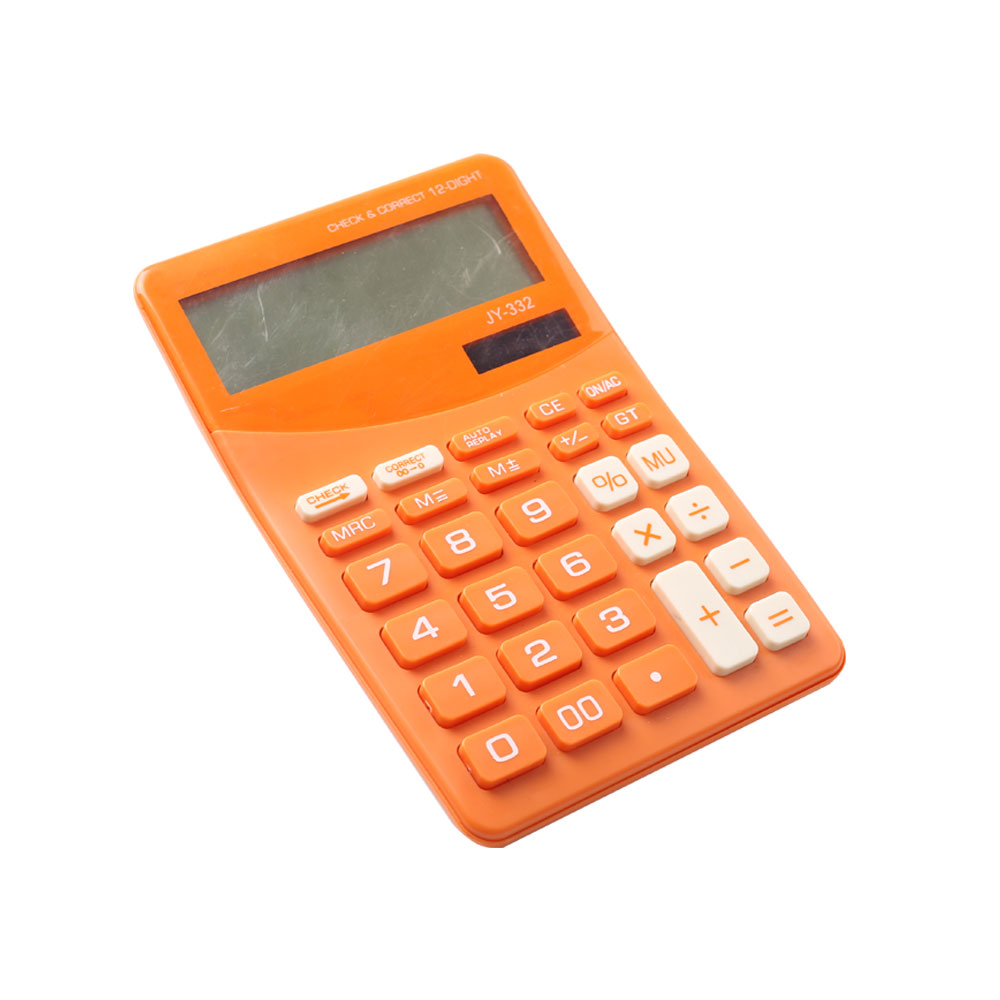 Calculadora de escritorio dual Power Business con función de verificación