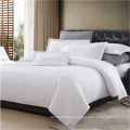 Hotel Collection 200T 100 reine Baumwolle Plain White Bettwäsche-Set