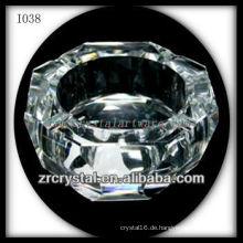 K9 Crystal Aschenbecher für Werbegeschenk