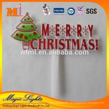 Heißer Verkauf gute Qualität Kunststoff Weihnachtskuchen Dekoration