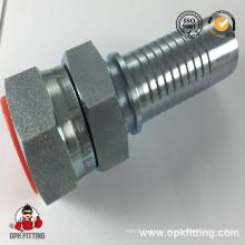 Encaixe de tubulação hidráulico 28611 do assento do cone da fêmea métrica de JIS 28 °