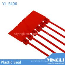 Double verrouillage des scellés de sécurité en plastique étanche de Pull (YL-S406)