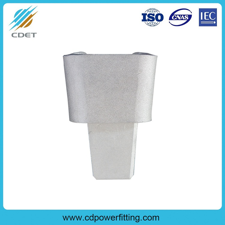 JXD Wedge Grounding Clamp Insulation Earth Clamp