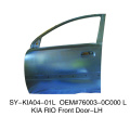 China plastic injection car door panel mould