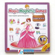 Novel Magic Magnet Games Dress-up Kits