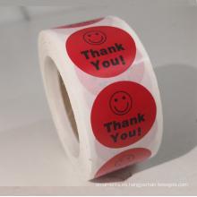 Etiqueta engomada autoadhesiva de papel cloured