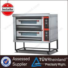 Коммерческий Отель Кухонное Оборудование K026 2-Слоя 4-Лоток Печь Производители Печей Для Продажи Использованный Газ Печь Для Пиццы
