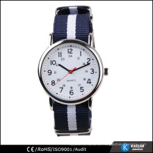 Relógio de nylon