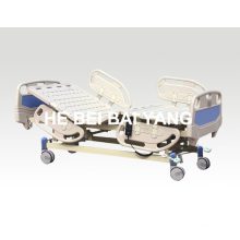 A-20 lit d'hôpital électrique à trois fonctions avec plateau en plastique
