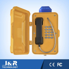 Telefone Industrial Analógico / 3G, Telefone VoIP de Mineração, Telefones Sem Túnel Sem Fio
