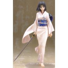 Kundenspezifische Anime PVC Figur Ornamente Kostüm Puppe Spielzeug