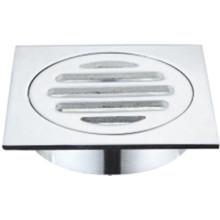 Quincaillerie de salle de bains Déchets de plancher en acier inoxydable (901.01.12)