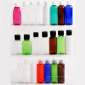 ¡Caliente! Botella transparente de plástico para mascotas de 10 ml a 300 ml con tapa plegable (PT01)