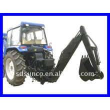 Towable Backhoe on Diesel Engine Tractor