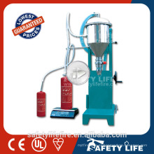New Condition and Electric Driven Type fire extinguisher dry chemical powder filling machine