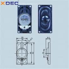 Boîtier ABS 8ohm 1w 4ohm 2w 2040 haut-parleur