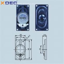ABS-Gehäuse 8 Ohm 1 W 4 Ohm 2 W 2040 Lautsprecher