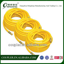 Quick coupler high pressure pvc clear water hose