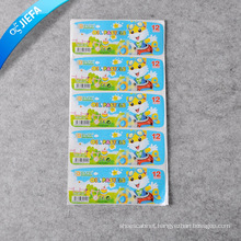 Custom Printed Good Quality Self Adhesive Sticker