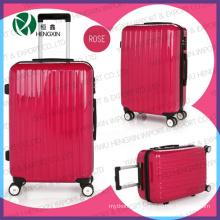 Красный тележки багажа комплект для женщины и девочки
