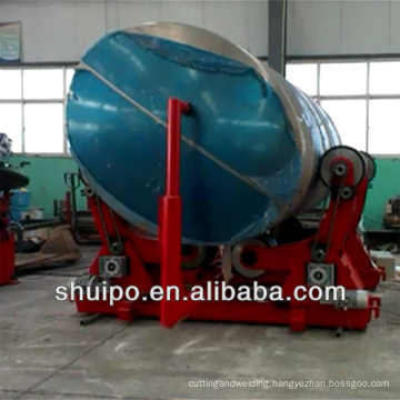 Roller Carrier for rotating elliptical tank