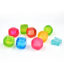 New Square Shape Ice Ball com PE transparente, Flash Ice Cube Fabricante em Shenzhen