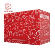 Paquete de caja de papel corrugado de lujo del fabricante profesional