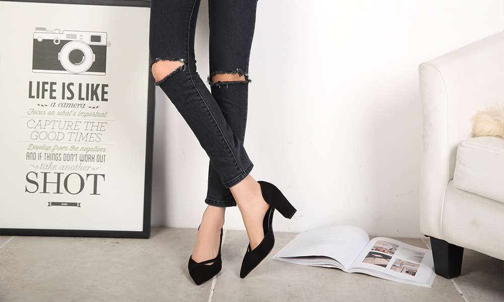 Women Chunky Pumps