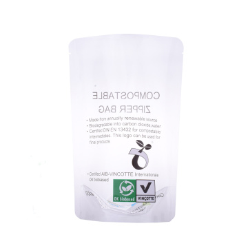 Busta Stand Up Eco Compostabile Eco Biodegradabile
