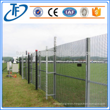 high security anti climb prison fence
