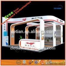 Cabina 6X6 stand para feria empacado en caja pequeña