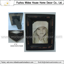 Solid Wooden Picture Frame with Retro Style