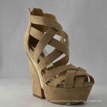 New Design Ladies Chunky Sandals (HCY03-049)