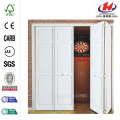 3-Lite Tempered Frosted Glass  Bi-fold Door
