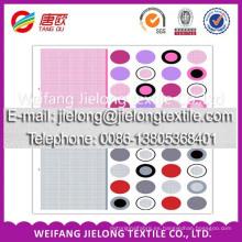 weifang shandong 100% tela de malla de impresión de algodón