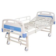 Meubles d'hôpital de lit de patient d'hôpital manuel à deux manivelles