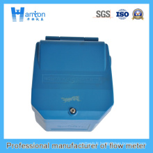 Plastique Bleu Tout-en-un Type Ultrasonic Level Meter Ht-105