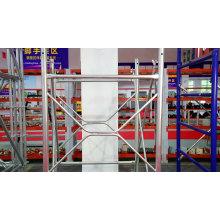 Powder coated Mason frame scaffolding for construction