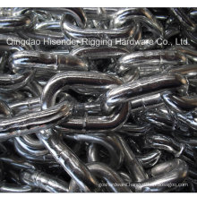 E. Galvanized Medium Link Chain, Long Link Chain, DIN763, DIN766 Chain