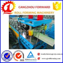 QJ Color Coated Iron Roof Ridge Cap Making Machine