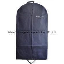 Azul marinho não-tecidos PP Suit Garment Cover Bag