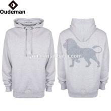 2016 OEM personalizado mens casual estilo oversized seco fit poliéster hoodies
