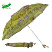 woman two folding japanese vintage umbrella