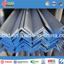 Barra de ângulo de aço inoxidável AISI 304 316 316L