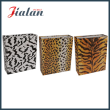 Wholesales Design Customize Size Fashion Logo Printed Leopard Paper Bag