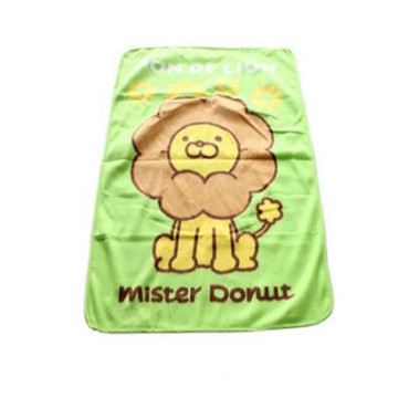 High Quality Baby Lion Print Fleece Blanket