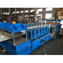 Máquina formadora de rolo de painel de porta de aço