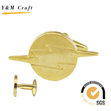 High Quality New Design Cuff Link Lapel Pin (Q09655)